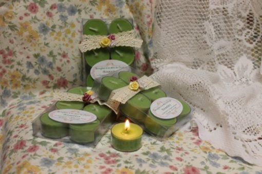 Bougies à la cire de Soya Concombre