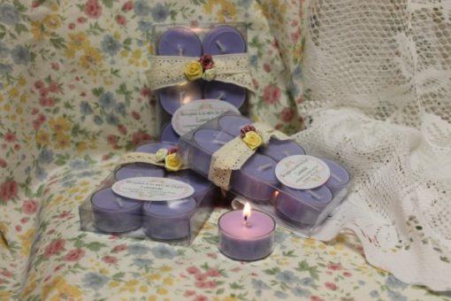 Bougies à la cire de Soya Lavande