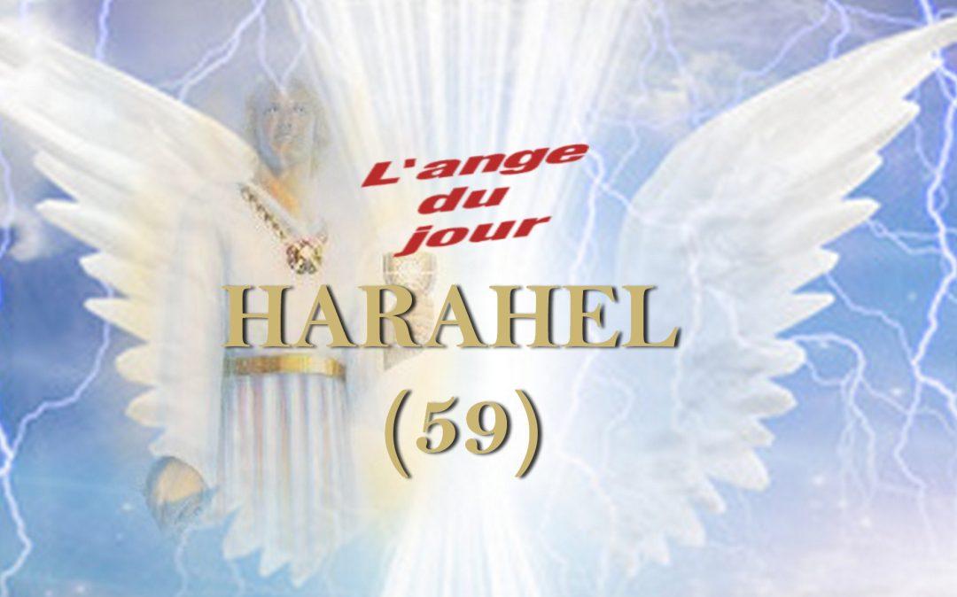 L'Ange Harahel du 11 au 15 Janvier